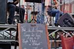 Fete de la musique 2009 a Cluny. Groupes : les toun's et les certenue's brothers