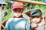 Enfants à Manlwal.