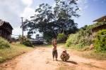 Enfants à Pankam.
