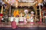 Le monastère de Manlwal.