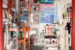 Le dentiste, sur le marché de Hsipaw.