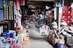 Le marché couvert de Hsipaw.