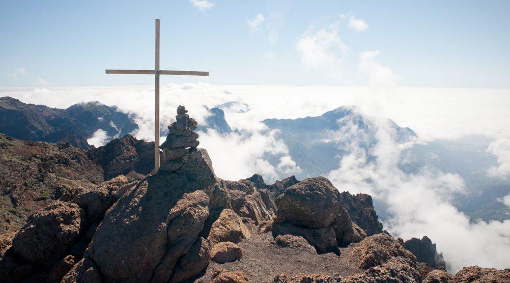 Le pico de la Cruz - La Palma